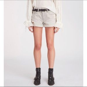 nwt all saints | pam denim shorts